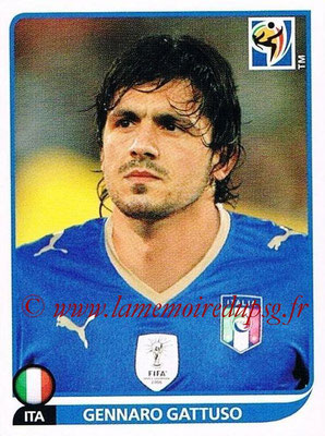 2010 - Panini FIFA World Cup South Africa Stickers - N° 421 - Gennaro GATTUSO (Italie)