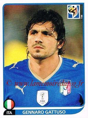 2010 - Panini FIFA World Cup South Africa Stickers - N° 421 - Gennaro GATTUSO (Italie)