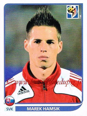 2010 - Panini FIFA World Cup South Africa Stickers - N° 480 - Marek HAMSIK (Slovaquie)