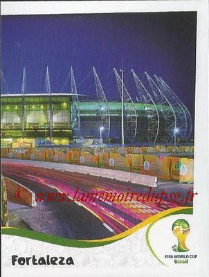 2014 - Panini FIFA World Cup Brazil Stickers - N° 017 - Estadio Castelao - Fortaieza (2)