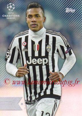 2015-16 - Topps UEFA Champions League Showcase Soccer - N° 080 - Alex SANDRO (Juventus FC)