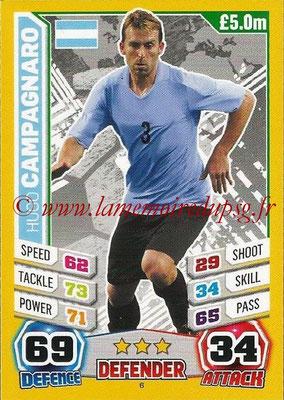 Topps Match Attax England 2014 - N° 006 - Hugo CAMPAGNARO (Argentine)