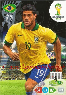 2014 - Panini FIFA World Cup Brazil Adrenalyn XL - N° 059 - HULK (Brésil)