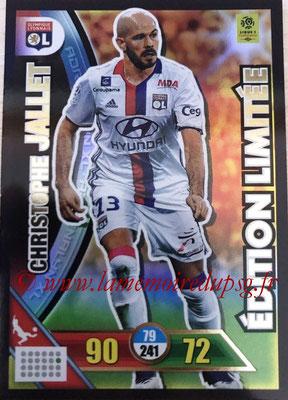 N° LE-CJ - Christophe JALLET (2009-14, PSG > 2017-18, Lyon puis Nice) (Edition Limitée)