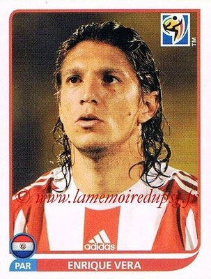 2010 - Panini FIFA World Cup South Africa Stickers - N° 441 - Enrique VERA (Paraguay)