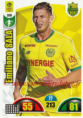 2018-19 - Panini Adrenalyn XL Ligue 1 - N° 209 - Emiliano SALA (Nantes)