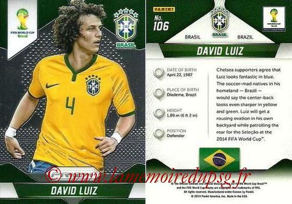 N° 106 - David LUIZ (2014, Brésil > 2014-??, PSG)