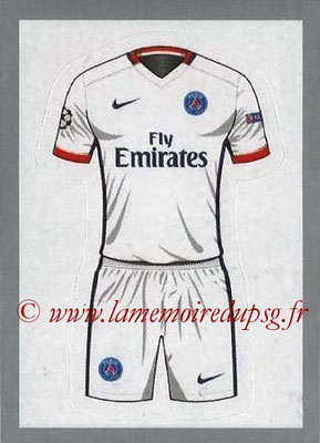 2015-16 - Topps UEFA Champions League Stickers - N° 006 - Maillot Exterieur PSG