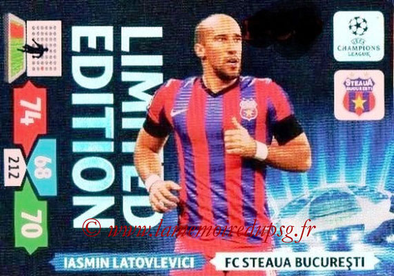 2013-14 - Adrenalyn XL champions League N° LE54 - Iasmin LATOVLEVICI (FC Steaua Bucarest) (Limited Edition)