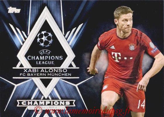 2015-16 - Topps UEFA Champions League Showcase Soccer - N° CP-XA - Xabi ALONSO (FC Bayern Munich) (Champions Pedigree)