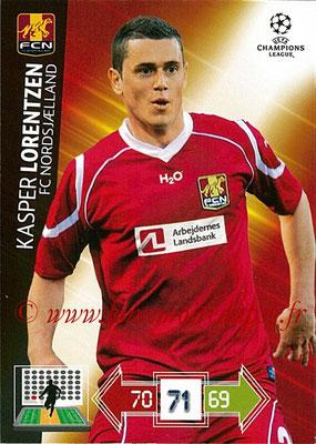 2012-13 - Adrenalyn XL champions League N° 177 - Kasper LORENTZEN (FC Nordsjaelland)