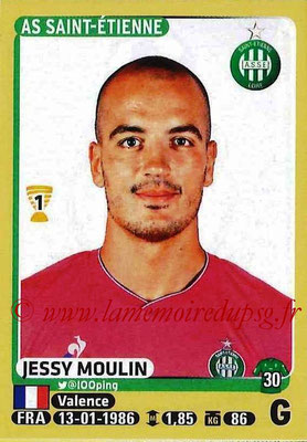 2015-16 - Panini Ligue 1 Stickers - N° 410 - Jessy MOULIN (AS Saint-Etienne)
