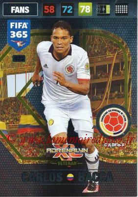 2016-17 - Panini Adrenalyn XL FIFA 365 - N° 423 - Carlos BACCA (Colombie) (Veteran)