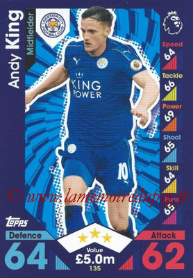 2016-17 - Topps Match Attax Premier League - N° 135