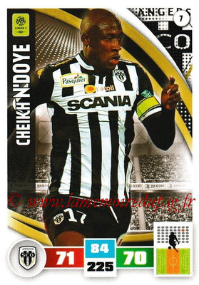 2016-17 - Panini Adrenalyn XL Ligue 1 - N° 007 - Cheikh N'DOYE (Angers)