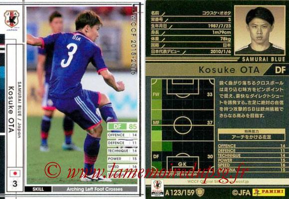 2015-16 - Panini WCCF - N° A123 - Kosuke OTA (Japon)