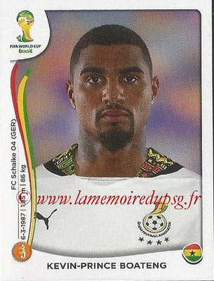 2014 - Panini FIFA World Cup Brazil Stickers - N° 539 - Kevin-Prince BOATENG (Ghana)