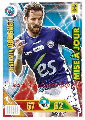 2017-18 - Panini Adrenalyn XL Ligue 1 - N° 311bis - Benjamin CORGNET (Strasbourg) (Mise à jour)