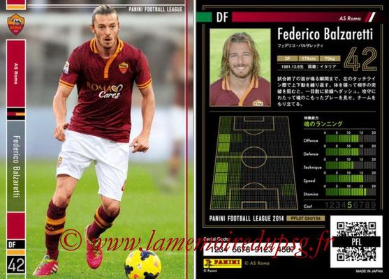 Panini Football League 2014 - PFL07 - N° 024 - Federico BALZARETTI (AS Roma)