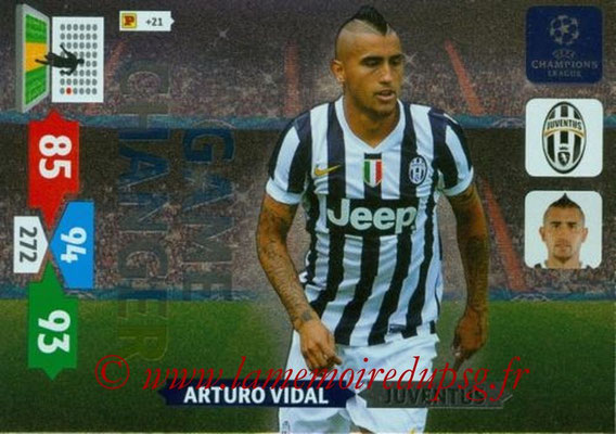 2013-14 - Adrenalyn XL champions League N° 341 - Arturo VIDAL (Juventus FC) (Game Changer)
