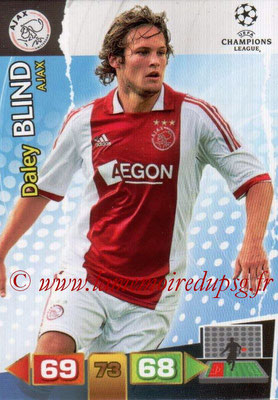 2011-12 - Panini Champions League Cards - N° 003 - Daley BLIND (AFC Ajax)