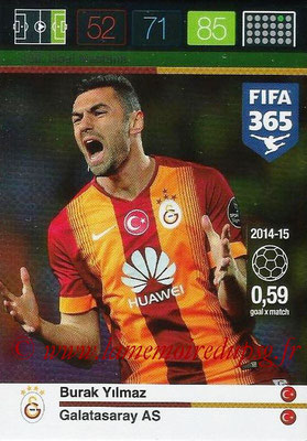 2015-16 - Panini Adrenalyn XL FIFA 365 - N° 190 - Burak YILMAZ (Galatasaray AS) (Goal Machine)