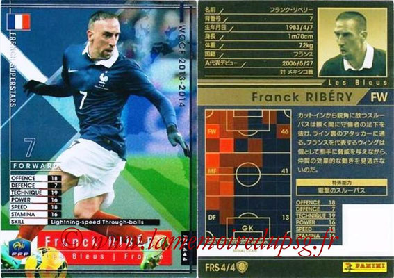 2013-14 - WCCF - N° FRS4 - Franck RIBERY (France) (French Superstars)