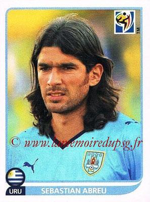 2010 - Panini FIFA World Cup South Africa Stickers - N° 086 - Sebastian ABREU (Uruguay)