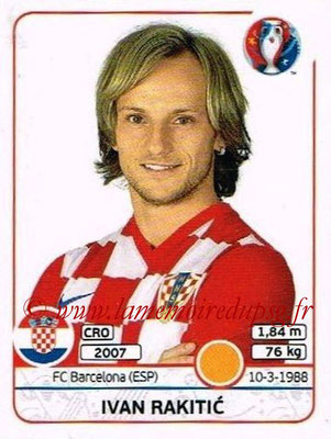 Panini Euro 2016 Stickers - N° 450 - Ivan RAKITIC (Croatie)