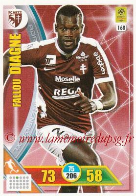 2017-18 - Panini Adrenalyn XL Ligue 1 - N° 168 - Fallou DIAGNE (Metz)