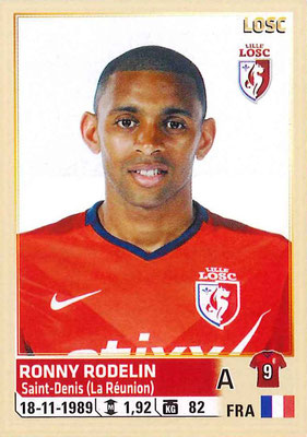 2014-15 - Panini Ligue 1 Stickers - N° 165 - Ronny RODELIN (Lille OSC)
