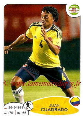 2014 - Panini Road to FIFA World Cup Brazil Stickers - N° 179 - Juan CUADRADO (Colombie)