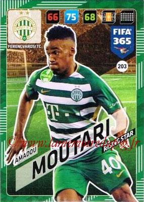 2017-18 - Panini FIFA 365 Cards - N° 203 - Amadou MOURARI (Ferencvaros TC) (Rising Star)