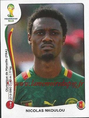 2014 - Panini FIFA World Cup Brazil Stickers - N° 093 - Nicolas NIKOULOU (Cameroun)