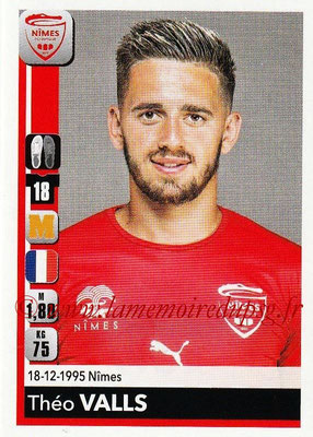2018-19 - Panini Ligue 1 Stickers - N° 339 - Théo VALLS (Nîmes)