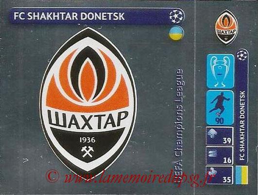 2014-15 - Panini Champions League N° 034 - Logo FC Shaktar Donetsk
