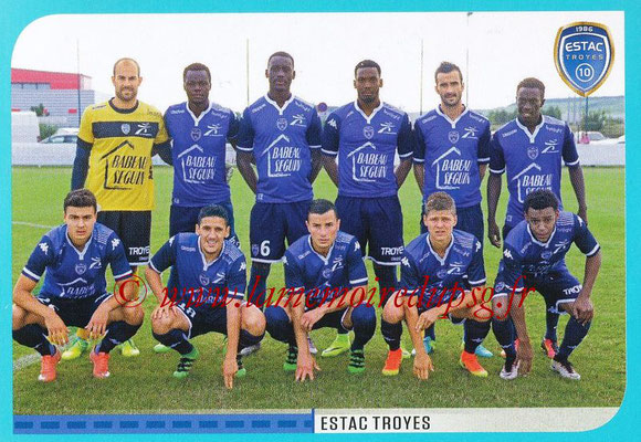 2016-17 - Panini Ligue 1 Stickers - N° 916 - Equipe Troyes