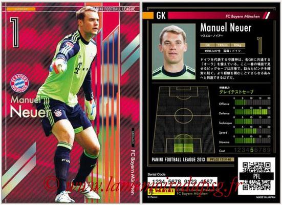 Panini Football League 2013 - PFL02 - N° 131 - Manuel Neuer ( FC Bayern Munchen ) (Super GK)