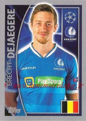 2015-16 - Topps UEFA Champions League Stickers - N° 545 - Brecht DEJAEGERE (KAA Gent)