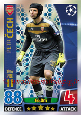 2015-16 - Topps UEFA Champions League Match Attax - N° P01 - Petr CECH (Arsenal FC) (Pro 11)