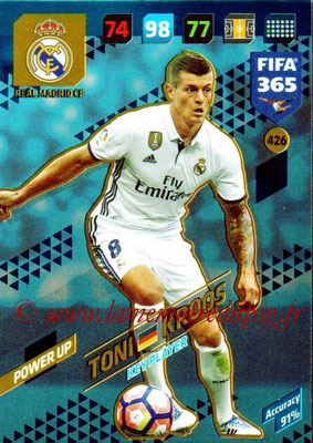 2017-18 - Panini FIFA 365 Cards - N° 426 - Toni KROOS (Real Madrid CF) (Key Player)
