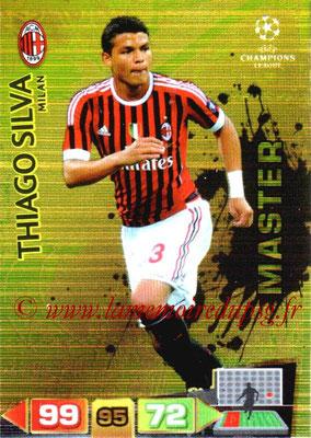 2011-12 - Panini Champions League Cards - N° 343 - Thiago SILVA (Milan AC) (Master)