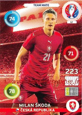 Panini Euro 2016 Cards - N° 057 - Milan SKODA (République Tchèque)