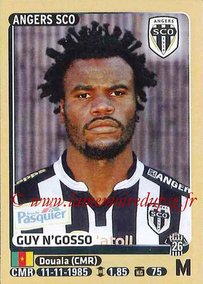 2015-16 - Panini Ligue 1 Stickers - N° 041 - Guy N'GOSSO (SCO Angers)