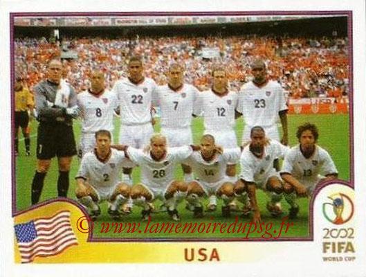2002 - Panini FIFA World Cup Stickers - N° 277 - Equipe Etats-Unis