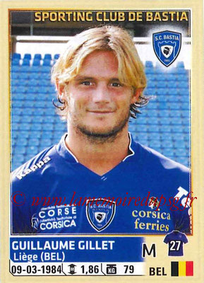 2014-15 - Panini Ligue 1 Stickers - N° 015 - Guillaume GILLET (SC Bastia)