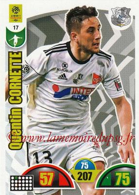 2018-19 - Panini Adrenalyn XL Ligue 1 - N° 017 - Quentin CORNETTE (Amiens)