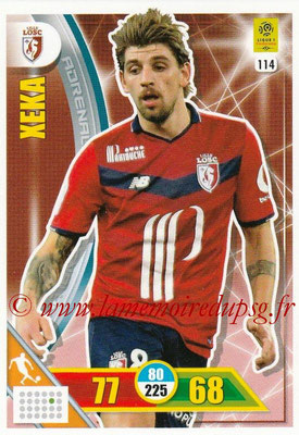2017-18 - Panini Adrenalyn XL Ligue 1 - N° 114 - XEKA (Lille)