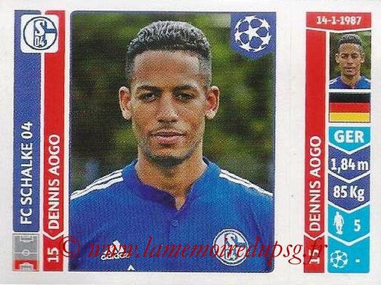 2014-15 - Panini Champions League N° 511 - Dennis AOGO (FC Schalke 04)