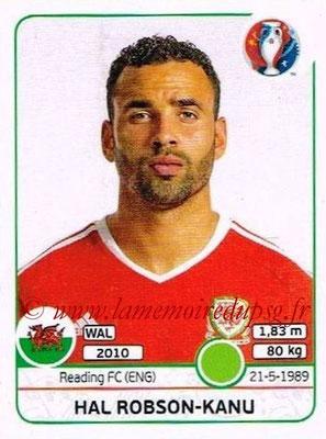 Panini Euro 2016 Stickers - N° 200 - Hal ROBSON-KANU (Pays de Galles)